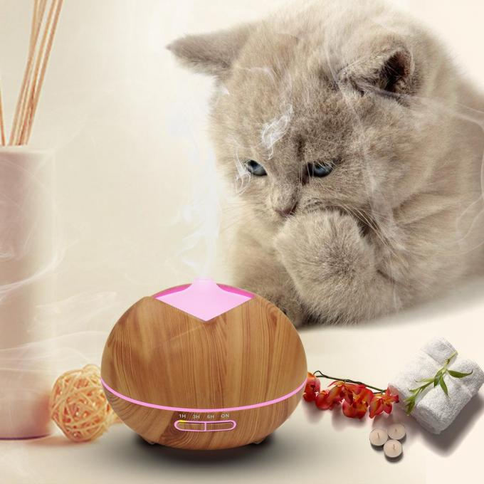 Electric Household Essential Oil Wood Diffuser Indoor Humidification Ultrasonic Air Aromatherapy