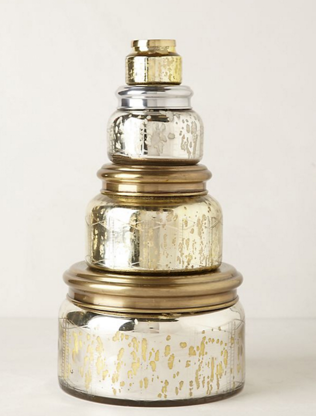 Custom Candle Jar Scented Jar Candle With Metal Lids Folding Box Packaging