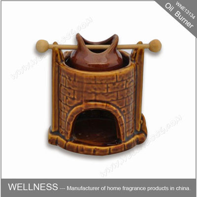 China Long Lasting Scented Oil Burner Beautiful Smelling For Purifying Air factory