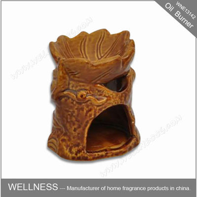 China Exquisite Design Scented Candle Oil Burners , Home Oil Burner Tree Shaped factory