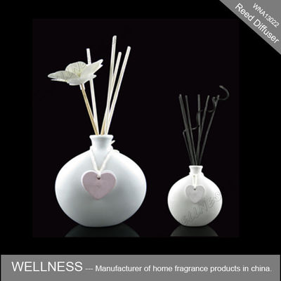 China White Ceramic Scent Diffuser Personalised Shape For Wedding / Party / Gift factory
