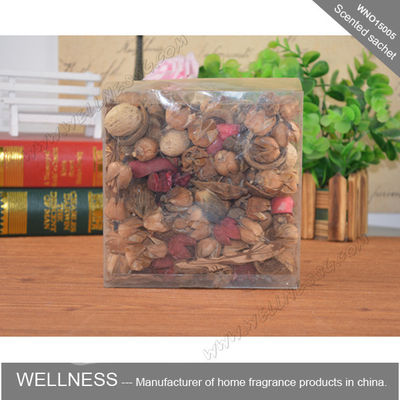 China Multi Colored Potpourri Drawer Sachets , Room Freshener Scented Hanging Sachets factory