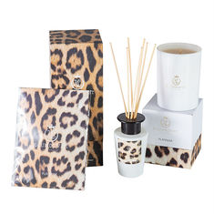 China Luxury Perfume Candle And Diffuser Set Colourful Scented With Custom Logo factory