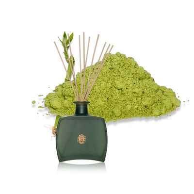 Air Fresheners Green Rattan Sticks Reed Diffuser In Green Glass Bottle
