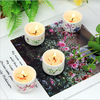 Luxury Wedding Decoration Home Scented Candles Ceramic Jar Candle Holder supplier