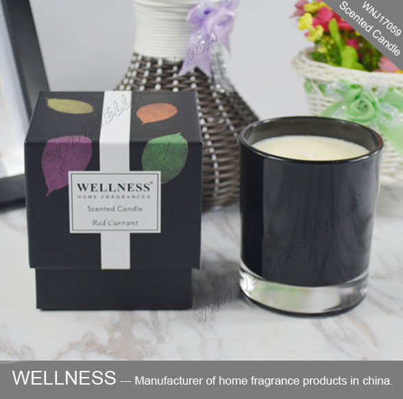 NO Toxins Natural Scented Candle Water - Soluble With No Petro Soot Emissions supplier