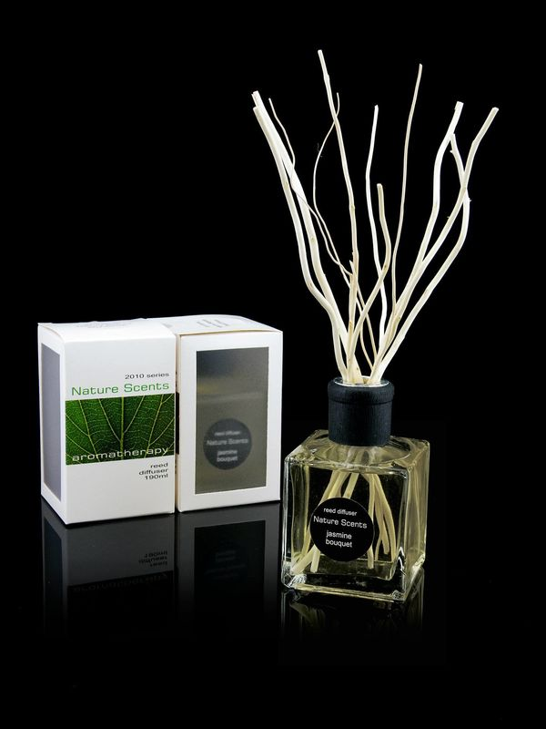 High End Salix Matsudana Wooden Reed Diffuser Elegant Style Home Fragrance supplier